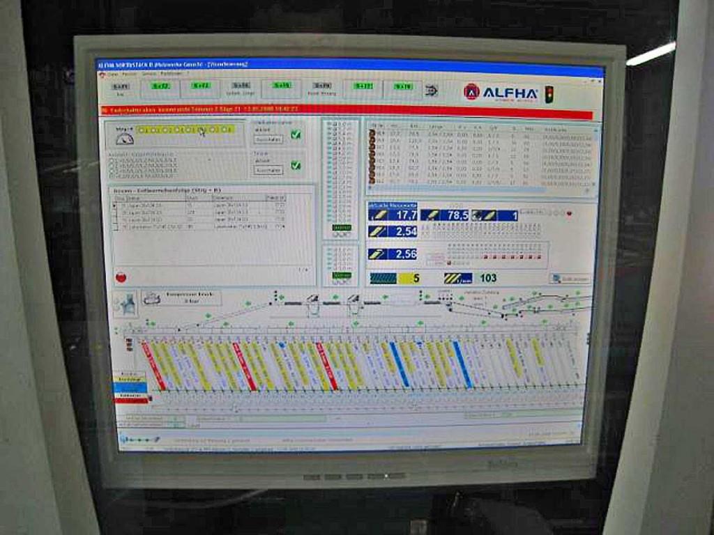 Elektrische Schalt- und Steueranlage ALFHA 2008